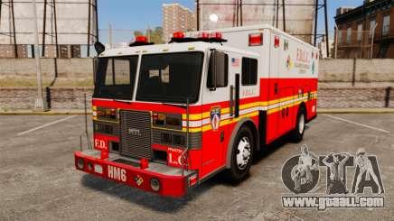 Hazmat Truck FDLC [ELS] for GTA 4