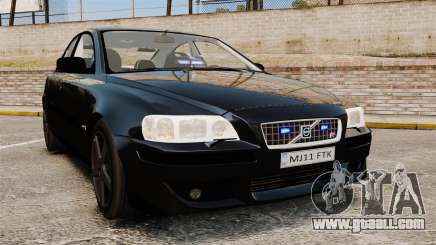 Volvo S60R Unmarked Police [ELS] for GTA 4