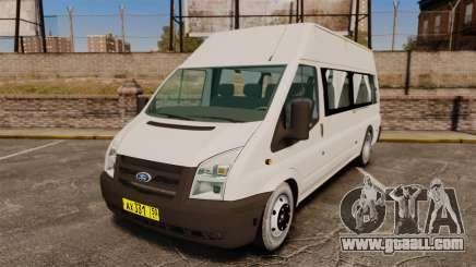 Ford Transit Passenger for GTA 4