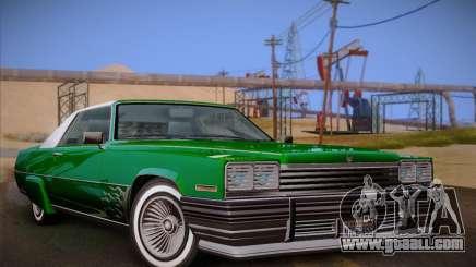 GTA V Manana for GTA San Andreas