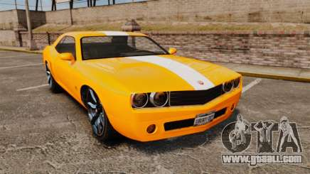 GTA V Gauntlet 450cui Turbocharged for GTA 4