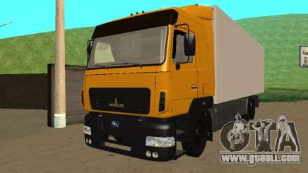MAZ 6312A8 for GTA San Andreas