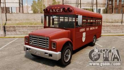 GTA IV TLAD Prison Bus for GTA 4