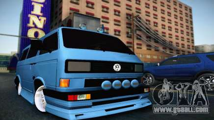 Volkswagen Transporter T2 Tuning for GTA San Andreas