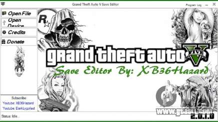 Grand Theft Auto V Save Editor v.2.0.1.0 for GTA 5