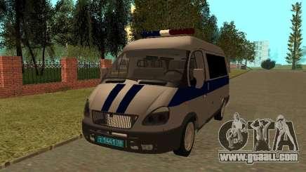GAS Sable Police for GTA San Andreas