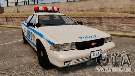 GTA V Police Vapid Cruiser NYPD for GTA 4