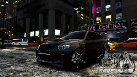 BMW X6 M Hamann 2013 Vossen for GTA 4