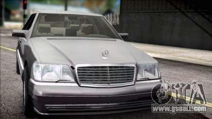 Mercedes-Benz S600 V12 V1.2 for GTA San Andreas
