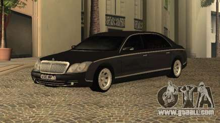 Maybach 62 V2.0 for GTA San Andreas