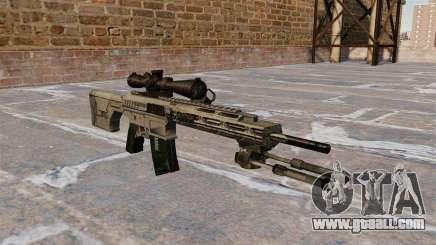 Sniper rifle Remington R11 RSASS for GTA 4