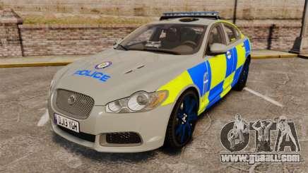 Jaguar XFR 2010 West Midlands Police [ELS] for GTA 4