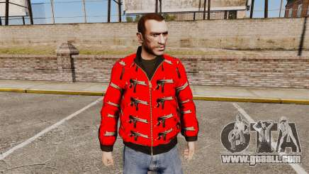 Windbreaker-Uzi- for GTA 4
