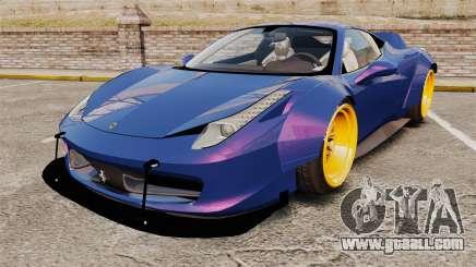 Ferrari 458 Italia Liberty Walk for GTA 4