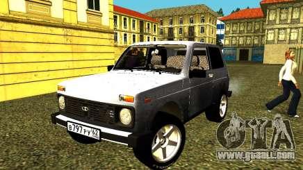 VAZ 21214 for GTA San Andreas