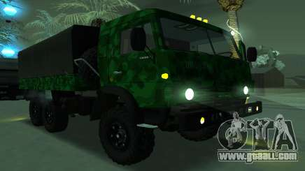 Army KAMAZ 4310 for GTA San Andreas