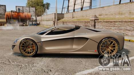 GTA V Grotti Turismo R v2.0 [EPM] for GTA 4 left view