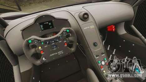 McLaren MP4-12C GT3 Blank for GTA 4 side view
