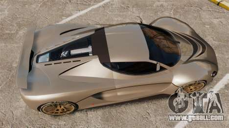 GTA V Grotti Turismo R v2.0 [EPM] for GTA 4 right view