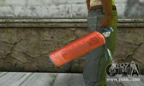 Extinguisher for GTA San Andreas third screenshot