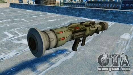 Anti-tank grenade launcher JAW v2.0 for GTA 4 second screenshot