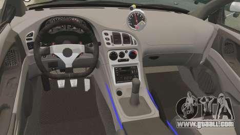Mitsubishi Ecplise GS 1995 for GTA 4 inner view