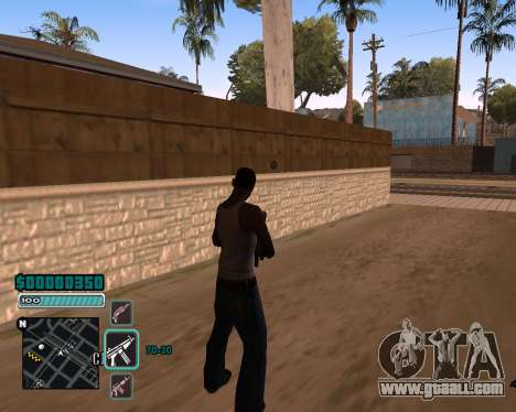 C-HUD v1 for GTA San Andreas second screenshot