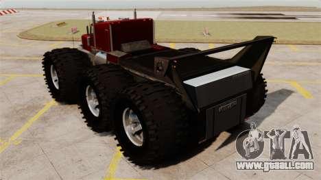 The Biggest Monster Truck for GTA 4 back left view