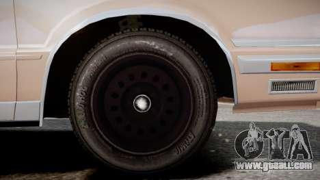 Chrysler New Yorker 1988 for GTA 4 back left view