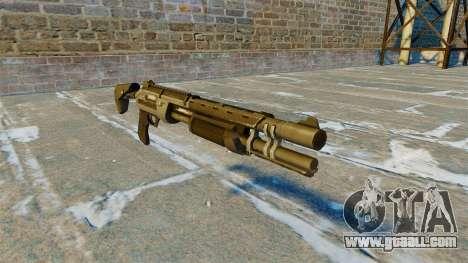 Pump-action shotgun Marshall v 2.0 for GTA 4