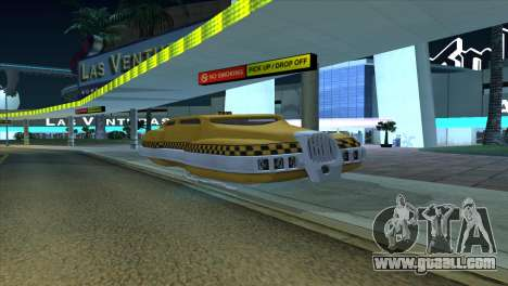 Taxi 5 Element for GTA San Andreas left view