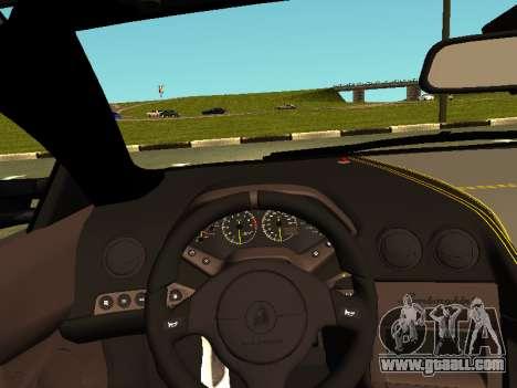 Lamborghini Murcielago LP670-4 SV Team Ravenwest for GTA San Andreas back view