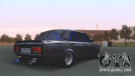 Vaz 2105 BC for GTA San Andreas left view