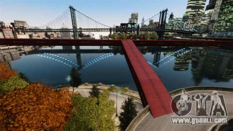 New bridge in East island city for GTA 4 second screenshot