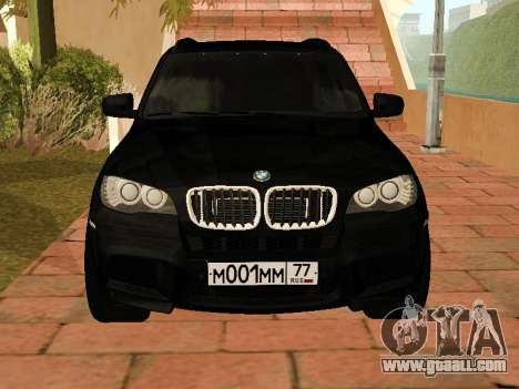 BMW X5 E70 2009 for GTA San Andreas left view