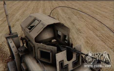 Oshkosh M-ATV for GTA San Andreas right view