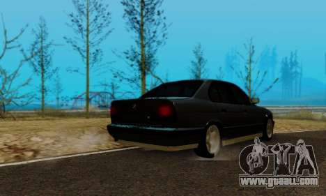 BMW M5 E34 1992 for GTA San Andreas left view