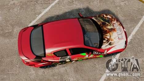 Mazda RX-8 R3 2011 for GTA 4 right view