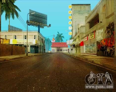 ENB HD CUDA v.2.5 for SAMP for GTA San Andreas sixth screenshot