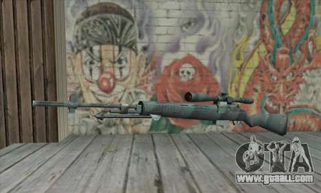 M21 from COD 4 Modern Warfare for GTA San Andreas