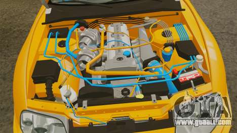 Toyota Supra RZ 1998 (Mark IV) Bomex kit for GTA 4 back view
