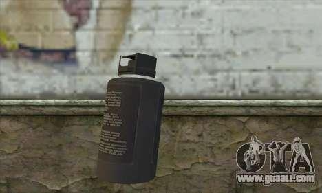 Spray из Postal 3 for GTA San Andreas second screenshot