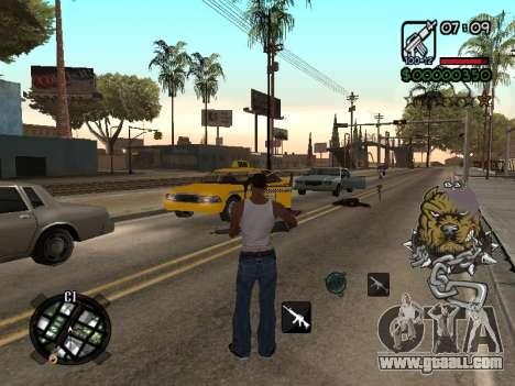 C-HUD by Margarin for GTA San Andreas third screenshot