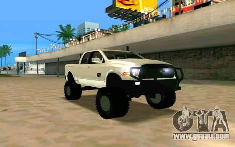 Dodge Ram 4x4 for GTA San Andreas