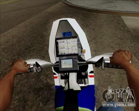 KTM 450 for GTA San Andreas right view