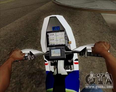 KTM 450 for GTA San Andreas