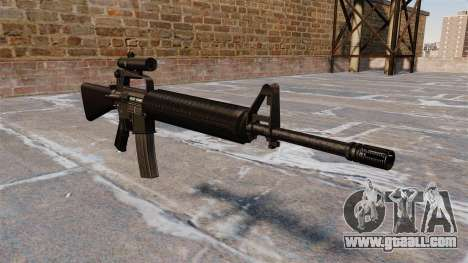 The M16A2 rifle for GTA 4