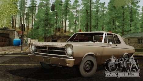 Plymouth Belvedere 2-door Sedan 1965 for GTA San Andreas left view