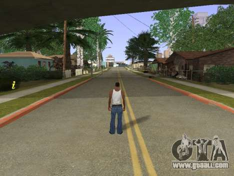 New Groove Street for GTA San Andreas forth screenshot