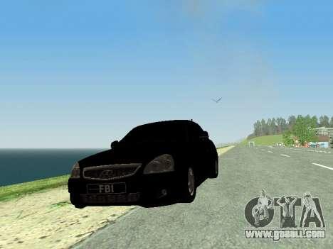 VAZ 2170 Priora for GTA San Andreas